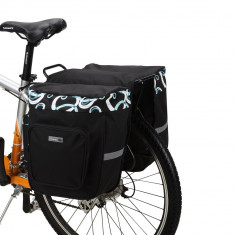 Geanta dubla Roswhell 30 l pentru portbagaj spate bicicleta
