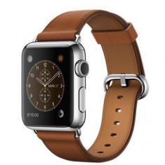 Smartwatch Apple Watch 38mm Carcasa Otel Inoxidabil Saddle Brown Classic Buckle