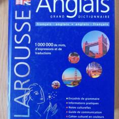 DICTIONNAIRE FRANCAIS-ANGLAIS, ANGLAIS FRANCAIS- DICTIONAR, 2010, 2367 PAGINI