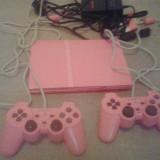 Consola PS2 SLIM - Editie limitata - ROZ - Playstation 2