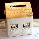 Casute dar nunta cu pietricele f05l - Decoratiuni nunta