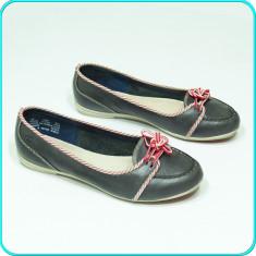 DE FIRMA _ Pantofi / mocasini dama, PIELE, calitate TIMBERLAND _ femei | nr. 38, Culoare: Bleumarin, Piele naturala