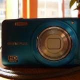 Olympus VG-160 14MP Digital Camera cu 5x Optical Zoom (Albastru) - Aparat Foto compact Olympus