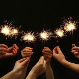 10 Artificii cu scantei stelute de pom 40cm/80sec