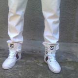 Gucci Coda - Adidasi barbati Gucci, Marime: 41-42, Culoare: Alb
