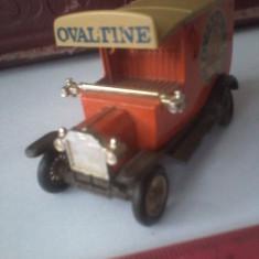 Bnk jc Lledo - Days Gone - T Ford Van Ovaltine - portocaliu - Macheta auto Alta