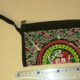 Portofel mare textil - interior simplu - design exotic - 2+1 gratis - RBK18067 - Portofel Dama, Culoare: Maro