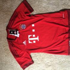 Tricou original Bayern München - Tricou echipa fotbal, Marime: M, Culoare: Rosu