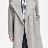 Jacheta usoara din lana si acryl - Only - art. 15119587 gri deschis - Geaca dama Only, Marime: 36, 38, 40, 42