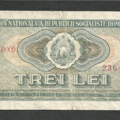 ROMANIA   3  LEI  1966   [3]