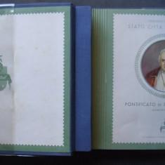 ALBUM PONTIFICAREA PAPEI IOAN AL XXIII-LEA, 32 EMISIUNI EMISE INTRE 1958-1963