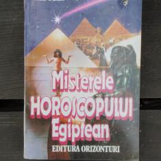 MISTERELE HOROSCOPULUI EGIPTEAN - ELY STAR - Carte Hobby Astrologie Altele