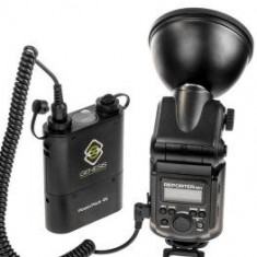 Blitz dedicat - Genesis Reporter 360 kit blitz cu acumulator