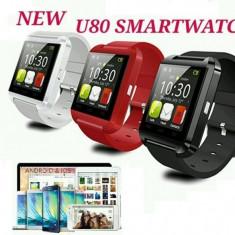 Ceas Inteligent U8 0 Bluetooth SmartWatch, Touchscreen Pt Telefoane Android / IOS