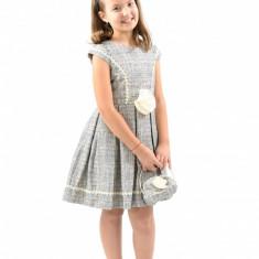 Rochie de mireasa printesa - Rochita cu poseta 10 ani Vanilla Colours