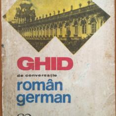 GHID DE CONVERSATIE ROMAN - GERMAN - Curs Limba Germana