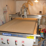 CNC Router MULTICAM seria 1000 (made in U.S.A)