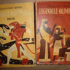Legendele Olimpului 2 vol/an 1973/614pag./ilustratii/- Al.Mitru