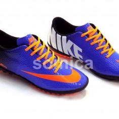 GHETE FOOTBAL COPII ADIDASI NIKE MERCURIAL, 4 CULORI, MARIMI 31-35, BAIETI - Ghete fotbal Nike, Marime: 33, Culoare: Gri, Asfalt: 1, Sala: 1
