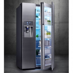 Samsung Samsung Side by Side Full No Frost RH57H90507F, Food SwowCase, 570 l, Clasa A+, H 177 cm, Inox