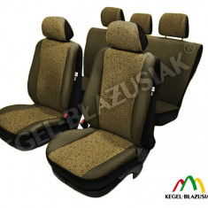 Huse Auto - Set huse scaune auto Swing Amber pentru Dacia Logan