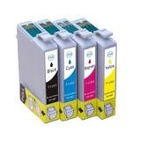 Set 4 cartuse imprimanta Epson T1281/T1282/T1283/T1284 compatibile - Cartus imprimanta