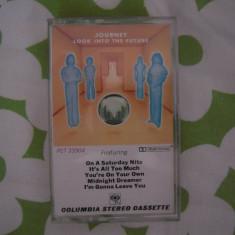 Caseta audio originala: Journey - Look Into The Future (1976) Stare perfecta - Muzica Rock Columbia, Casete audio