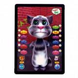 Tableta interactiva TALKING TOM 3D, Touch, Repeta Vorbeste Canta, Garantie