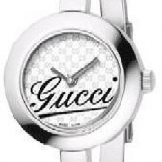 Ceas original de dama Gucci Round Bangle YA105529 - Ceas dama