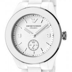 Ceas original de dama Emporio Armani White Ceramic AR1425 - Ceas dama