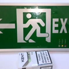 Semn de evacuare exit cu sageata stanga dreapta si simplu
