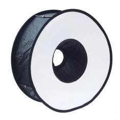 Blitz circular - Meking Flash Ring Softbox circular ring-light pentru blitzuri speedlite
