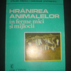 STELIAN DINESCU - HTANIREA ANIMALELOR IN FERME MICI SI MIJLOCII - Carti Zootehnie