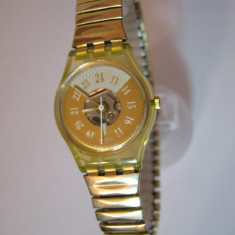 Ceas Swatch dama - pret vanzare 180 lei (Original) - Ceas dama Swatch, Casual, Quartz, Inox, Analog, 2000 - prezent