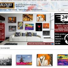 Site de Vanzare - Magazin online tablouri-online.net