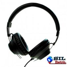 Casti DJ - Casca stereo DJ retro negru Maxell