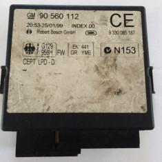 Dezmembrari - Calculator confort Opel Astra G Zafira 90560112