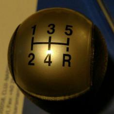Maciuca maneta cap nuca schimbator viteze 5+1 Original Ford cu filet interior