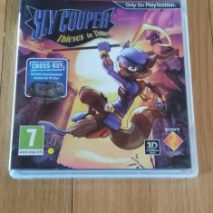 JOC PS3 SLY COOPER THIEVES IN TIME ORIGINAL / 3D compatible / by WADDER - Jocuri PS3 Sony, Actiune, 3+, Multiplayer