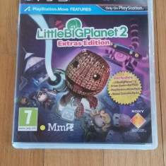 JOC PS3 LITTLE BIG PLANET 2 EXTRAS EDITION ORIGINAL / by WADDER - Jocuri PS3 Sony, Arcade, 3+, Multiplayer
