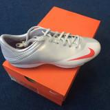 Adidasi de fotbal Nike Mercurial - Ghete fotbal, Marime: 43, Culoare: Gri, Barbati