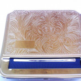 APARAT de RULAT CU TABACHERA STRONG BOX 4 pentru rulat tutun / tigari - Aparat rulat tigari
