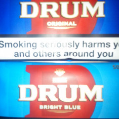 TUTUN DRUM ORIGINAL SAU BRIGHT BLUE 50G NUMAI BUCURESTI!OFERTA 4 BUC=100 LEI.