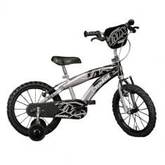 Bicicleta 165 XC Seria DMX, 16 inch Negru - Bicicleta copii Dino Bikes