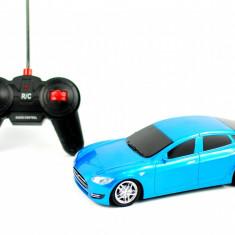 Vehicul - Masina de jucarie cu radio comanda 1:18 - Masinuta albastra sport pentru copilul tau