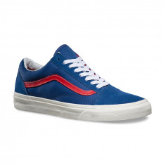 Shoes Vans Old Skool Vintage Sport Blue/red - Tenisi barbati