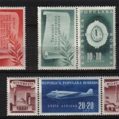Timbre Romania, Nestampilat - RRR AL II LEA CONG. A.R.L.U.S. LP. 241 MNH LUX