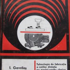 Carti Mecanica - Tehnologia de fabricatie a rotilor dintate pe masini-unelte clasice si cu comand