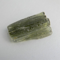 Tectita - MOLDAVIT (M23) - Fosila roca, Naturala