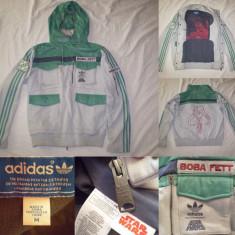 Bluza Adidas Star Wars Boba Fett Jacket (M) barbati casual sport retro vintage - Jacheta barbati, Marime: M, Culoare: Din imagine